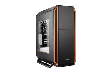 ROZBALENO - be quiet! SILENT BASE 800 Window Orange / ATX / 2x USB 2.0 + 2x USB 3.0 / 1x 120 mm + 4x 140 mm / rozbaleno