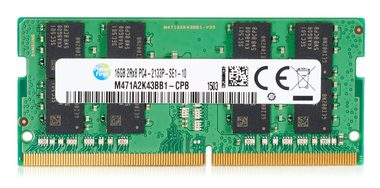HP 4GB / (1x4GB) / DDR4-2133 / pro HP 280 G2 MT