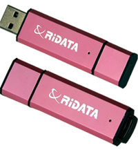 RIDATA USB OD3 8GB Pink / Flash disk / USB 2.0 / růžová