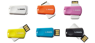 RIDATA USB OD14 8GB Pink / Flash disk / USB 2.0 / růžová