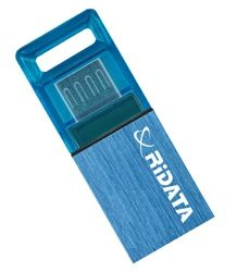 RIDATA USB OTG 32GB Blue / Flash disk / USB 2.0 / microUSB / OTG / modrá