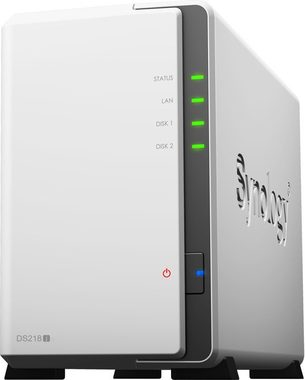Synology DiskStation DS218j / 2x HDD / Marvell Armada 385 @1.3GHz / 512MB RAM / USB 3.0 / GLAN
