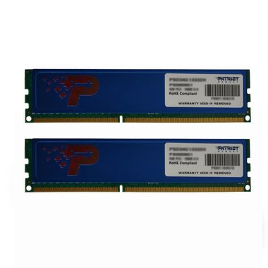 Patriot 8GB (2x4GB) 1600MHz / DDR3 / CL11 / Non-ECC / Unbuffered / 1.5V / chladič