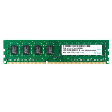 Apacer 8GB 1600MHz / DIMM / DDR3 / CL11 / Unbuffered / Non-ECC / 1.35V