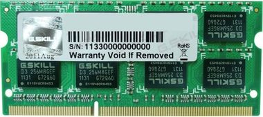G.Skill 4GB (1x4GB) 1600MHz / DDR3L SO-DIMM / CL11 / 1.35V