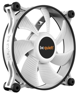 be quiet! Shadow Wings 2 120mm PWM bílá / 120mm / Rifle Bearing / 15.9dB @ 1100RPM / 38.5CFM / 4-pin PWM