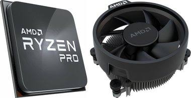 AMD RYZEN 7 PRO 4750G @ 3.6GHz / Turbo 4.4GHz / 8C16T / L1 512kB L2 4MB L3 8MB / AM4 / Zen 2 / 65W / Wraith