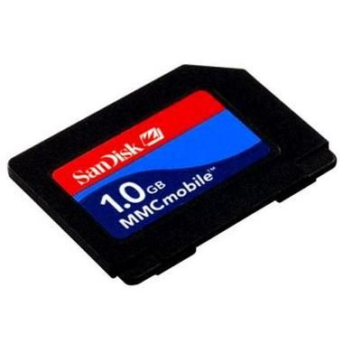 SanDisk 1GB RS-MMC / DV