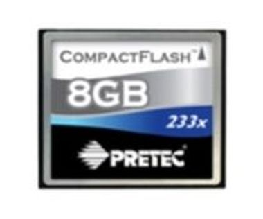 Pretec Compact Flash karta 233x 8GB
