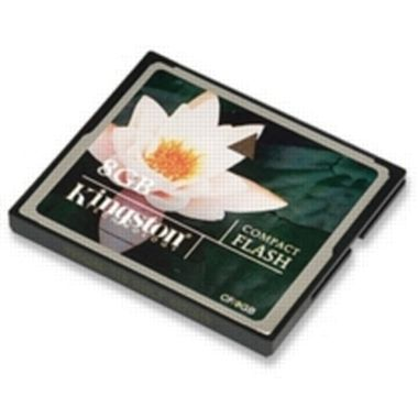 8 GB CompactFlash Card Kingston / Rozbaleno / rozbaleno