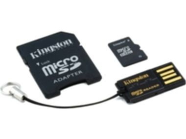 16 GB Mobility Kit G2 Kingston Class 10 / (microSD+adaptér+čtečka) / Rozbaleno / rozbaleno