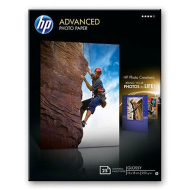 HP Advanced Photo Paper, Gloss, 13x18cm, 3ks, 250g/m2