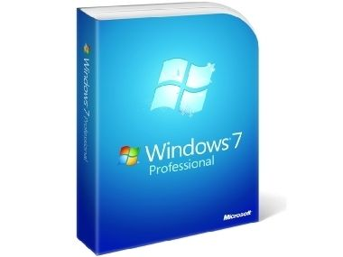 Windows 7 Professional / 64-bit anglická lokalizace / licence OEM / médium DVD / SP1