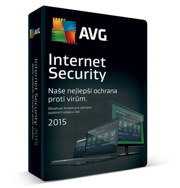 AVG Internet Security Home edition / 1 licence / 2 roky / SN Email