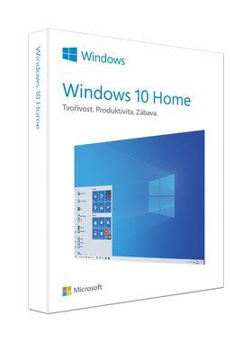 Microsoft Windows 10 Home / Elektronická licence - plná verze / 32-bit nebo 64-bit / 1 PC / přenositelná