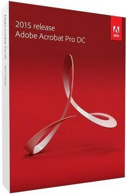 Adobe Acrobat Pro DC v2015 CZ / 1 PC  / Win / Upgrade / BOX