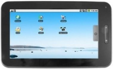 "POINT OF VIEW Mobii Tablet / 7"" LCD / 800 x 480 / 1GHz / 512 MB / 4GB / Wi-Fi / mHDMI/ CAM / 340 g / Android 2.3"