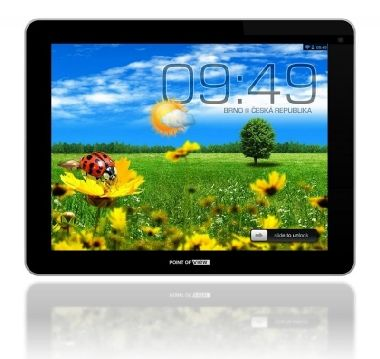 "POINT OF VIEW Mobii 945 / 9,7"" MultiTouch / 4jádro Cortex A7 1GHz/ 2 GB RAM / 16GB / Wi-Fi/microSDHC/ Android 4.1/ Bazar"
