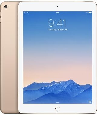 "Apple iPad Air 2 64GB WiFi Gold / 9.7""/ 2048x1536 / Wi-Fi  / 10h výdrž / 2x kamera / iOS8 / Zlatý"