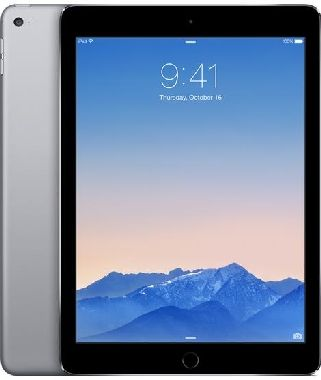 "Apple iPad Air 2 128GB WiFi Cellular Space Gray / 9.7""/ 2048x1536 / WiFi+LTE / 10h výdrž / 2x kamera / iOS8 / Šedá"