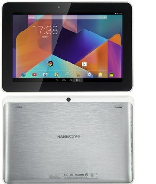 "HANNspree HANNSpad SN1AT74W / 10.1""/ ARM Cortex A-9 1.3GHz / 1GB / 16GB / Wi-Fi / BT / Android 4.4 / bílá"