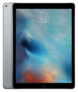 "Apple iPad Pro 32GB WiFi Space Gray / 12.9""/ 2732x2048 / WiFi / 10h výdrž / 2x kamera / iOS9 / Šedý"