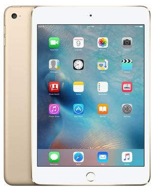 "Apple iPad Mini 4 128GB WiFi Gold / 7.9""/ 2048x1536 / Wi-Fi / 10h výdrž / 2x kamera / iOS9 / Zlatý"