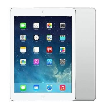 "Zánovní - Apple iPad Air 32GB / 9.7"" LED / Wi-Fi + 3G LTE / 10h výdrž / 2x kamera  / A7 chip / Silver & white"
