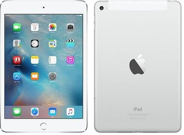 "Apple iPad Mini 4 16GB Cellular + Wi-Fi Silver/ 7.9""/ 2048x1536 / Wi-Fi / 3G/LTE / 2x kamera / iOS9 / stříbrný"