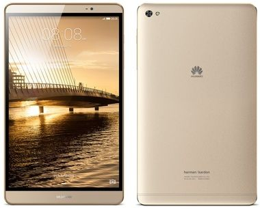 "HUAWEI MediaPad M2 8.0 Gold 32GB / 8"" / 1920x1200 / Octa-Core 2.0GHz / 3GB / 32GB / Wi-Fi / 8MP+2MP / Android 5.1 /Zlatý"