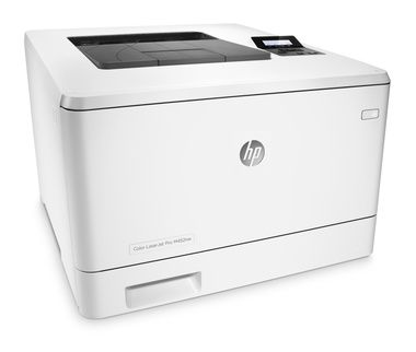 HP Color LaserJet Pro M452nw / 27/27 ppm / 600x600 dpi / ePrint / USB 2.0 + LAN + WiFi