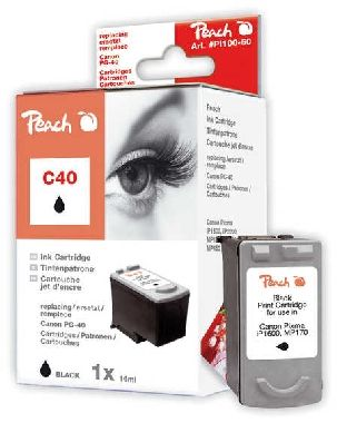 PEACH kompatibilní cartridge Canon PG-40, Black, 23 ml