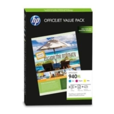 HP CG898AE set na brožury / originální cartridge / Officejet 940XL / + 100 ks 180 g/m2