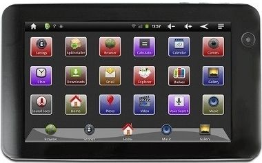 "POINT OF VIEW TABLET 7"" PRO / 800 x 480 / 1.2GHz / 512 MB / 4GB /Wi-Fi/ Kamera/ Micro SD/ HDMI/ Android 2.3/ CZ"