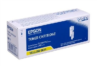 EPSON toner S050611 C1700/C1750/CX17 (1400 pages) yellow