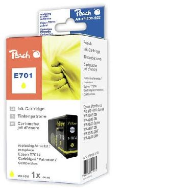Peach alternativní cartridge / Epson WorkForce Pro / 36 ml / Žlutá