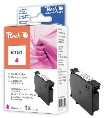 Peach T1813 alternativní cartridge / Epson Expression Home XP-202 / 10 ml / Fialová