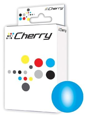 Cherry 940XL alternativní cartridge s čipem / HP OfficeJet Pro 8000 / 25 ml / Modrá