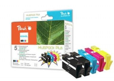 Peach Remanufactured 364XL MultiPack Plus alternativní cartridge / HP Photosmart D5460 / OEM chip / Multipack