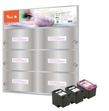 Peach Remanufactured alternativní cartridge 301XL MultiPack Plus / DeskJet 1050, 2050 / OEM chip / MultiPack Plus