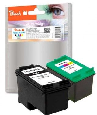 Peach Remanufactured 350/351XL MultiPack alternativní cartridge / HP Deskjet D4260 / OEM Chip / MultiPack