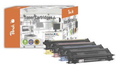 Peach Remanufactured TN-135 alternativní toner / HL-4040CN, 4050CDN / 5.000/3x4000 stran / Multipack