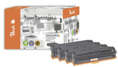 Peach Remanufactured 125A alternativní toner/ HP CLJ 1x15, CM1312 / 2.000/3x1400 stran / Multipack