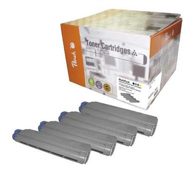 Peach Remanufactured alternativní toner MC860 / 9500/3x10000 stran / MultiPack