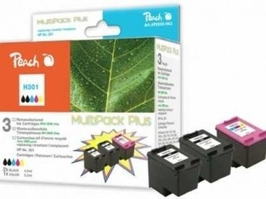 Peach alternativní cartridge 301 MultiPack Plus / DeskJet 1050, 2050 / MultiPack Plus