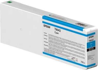 Epson originální cartridge T804200 UltraChrome HDX/HD / 700ml / Modrá