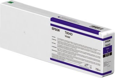 EPSON originální cartridge T804D00 UltraChrome HDX / 700ml / Violet