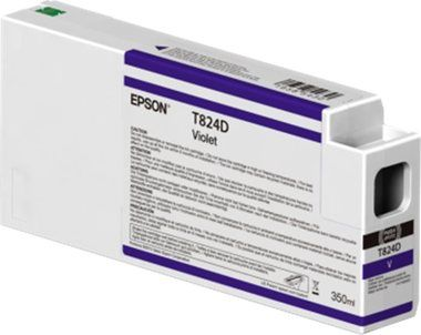 EPSON originální cartridge T824D00 UltraChrome HDX / 350ml / Violet