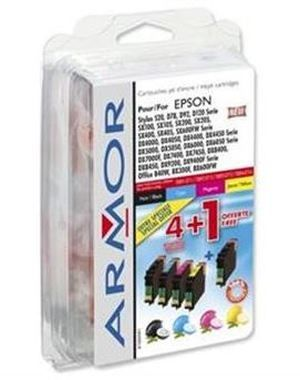 Armor ink-jet T071 alternativní cartridge / 7.4 ml / CMYK / Multipack