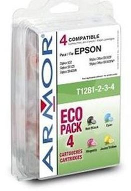 Armor ink-jet T128540 alternativní cartridge / S22,SX125 / Multipack / CMYK